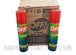 """Аэрозоль """"OFF! Extreme"""" от насекомых"""