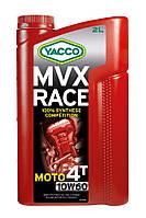 Моторное масло для мотоциклов Yacco MVX RACE 4T 10W60 (2L)