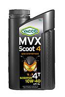 Моторное масло для скутеров Yacco MVX SCOOT 4 10W40 (1L)
