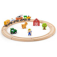 Железная дорога Viga Toys 19 деталей (51615)