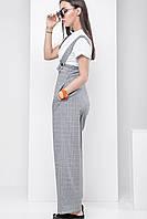 Широкие брюки женские в клетку Винсент