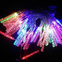 Гирлянда Сосульки с пузырьками LED 40 мульти (1-127), фото 1