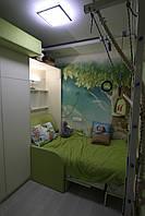 Детская шкаф-кровать с диванчиком  , фото 1