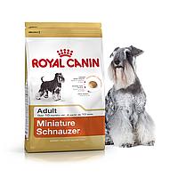 Роял Канин 7.5 кг корм для миниатюрного шнауцера старше 10 месяцев