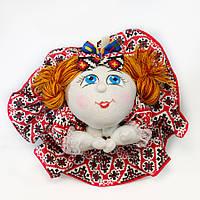 Интерьерная кукла попик хозяйка.