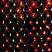 Гирлянда Сетка Led 2240 мульти (1-41), фото 1