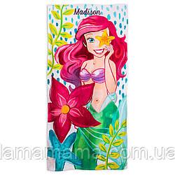 Пляжное полотенце Русалочка Ариэль Ariel Beach Towel for Kids