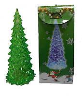 """""""Ёлочка"""" Led-светильник зелёная 17,5 см, фото 1"""