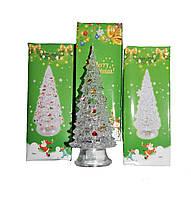 """Новогоднее украшение """"Ёлочка"""" Led-светильник белая 14 см, фото 1"""
