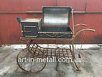 """Мангал на колесах с печью """"Монреаль"""", фото 1"""