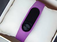 Фитнес браслет (трекер) Smart Band M2 + приложение DroiHealth, фиолетового цвета, фото 1