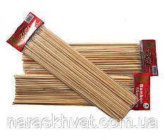 Шпажки бамбуковые 30 см/4 мм