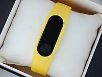 Фитнес браслет (трекер) Smart Band M2 + приложение DroiHealth, желтого цвета, фото 1
