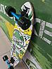 Лонгборд круізер дерев'яний 86*22 см SK-901 Zelart, фото 3