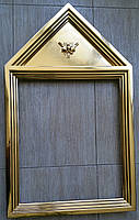 Изготовление и золочение сусальным золотом деревянных рам., фото 3