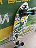 Лонгборд круізер дерев'яний 86*22 см SK-901 Zelart, фото 4