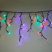 Гирлянда уличная Бахрома LED 100 мультиколор