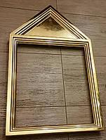 Изготовление и золочение сусальным золотом деревянных рам., фото 4