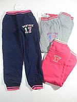 Утеплённые спортивные брюки для девочек, размеры 140,140 арт. AD-632