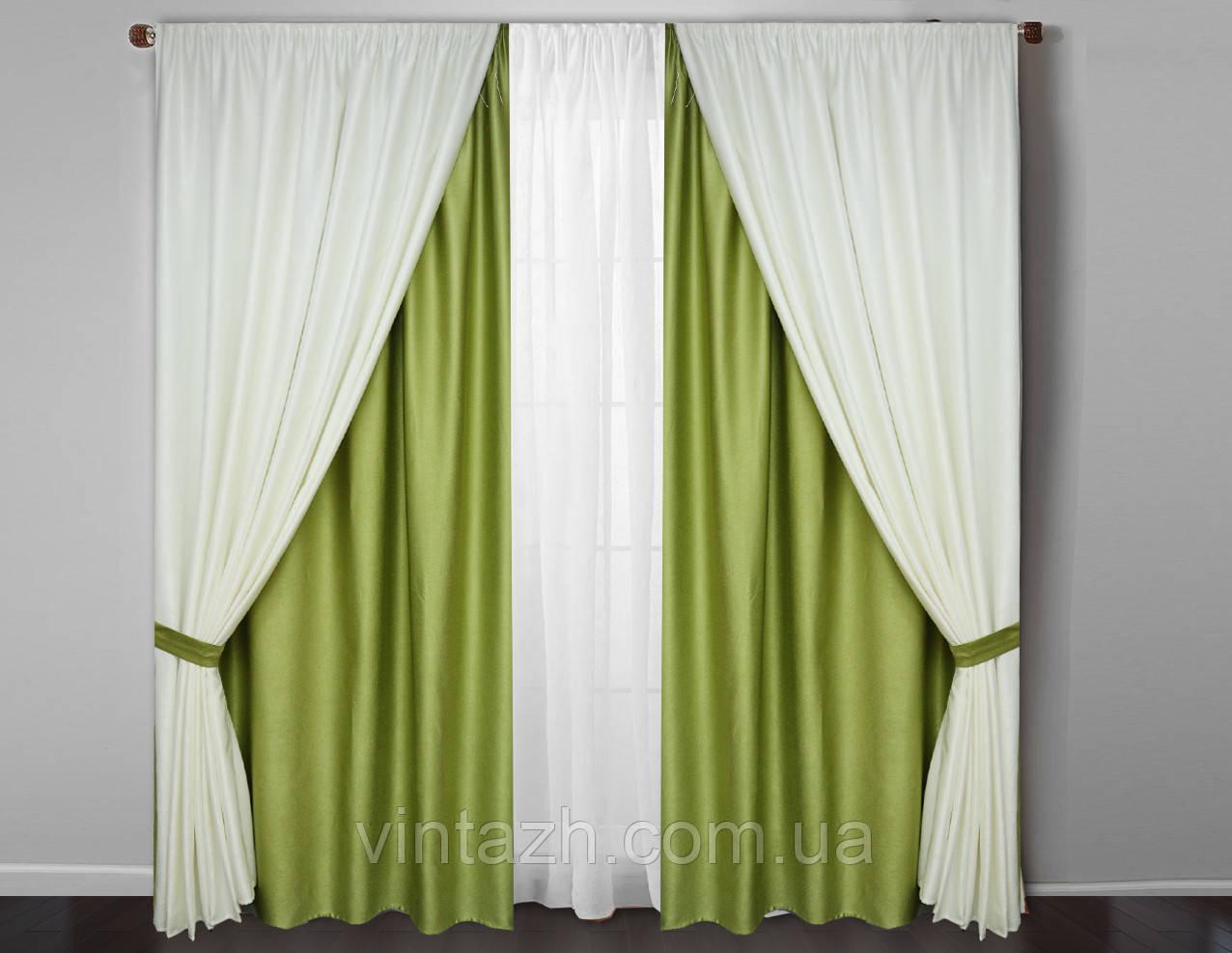 Богатые шторы  с тюлем в Украине
