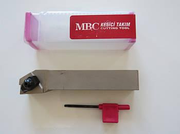 Резец проходной подрезной с механическим креплением  25х25х150 TCLNR М12 MBC