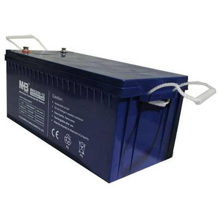 Аккумулятор гелевый 150Ач 12В, GEL, фото 2
