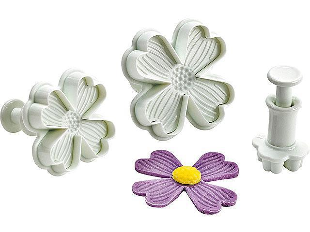 "Плунжер для мастики ""Незабудки цветы"" набор, арт. зн-2027"