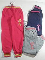 Утеплённые спортивные брюки для девочек, размеры 164, арт. AD-639