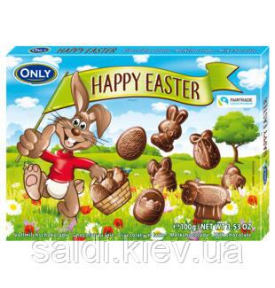 Молочный шоколад фигурный Онли happy easter