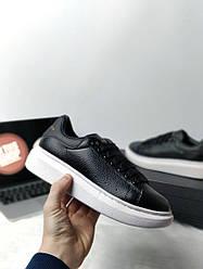Кроссовки женские Alexander McQueen Oversized Sneaker  Black