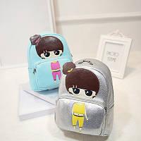 Модный рюкзак с девочкой