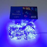 Гирлянда Нить LED 500 голубая
