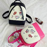Силиконовый рюкзак с глазками