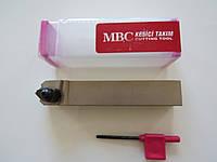 Резец проходной подрезной с механическим креплением 25х25х150 TCZNN М12 MBC