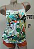 """Женский комплект с шортами """"MARIA"""" цветной арт.7701  размер XL"""