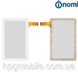 Сенсорный экран для Nomi A10100, белый, оригинал