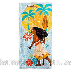 Пляжное полотенце Моана (Ваяна) Moana Beach Towel for Kids