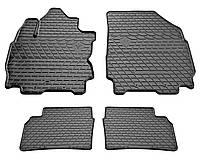 Коврики для Nissan Note с 2005- цвет: черный
