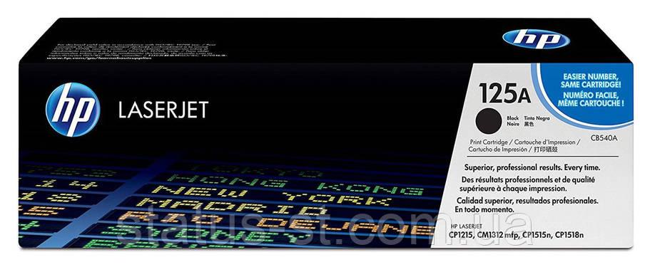 Заправка картриджа HP 125A black CB540A для принтера CLJ CM1312, CM1312nfi, CP1210, CP1215, CP1510 в Києві, фото 2