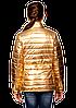 Красивая куртка для девочки блестящая, фото 3