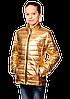 Блестящие курточки для девочек весенние, фото 2