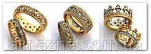 Ремонт обручальных колец (Увеличение/уменьшение размера кольца)