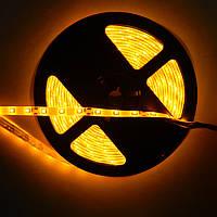 Лента светодиодная smd 2835 60D жёлтая