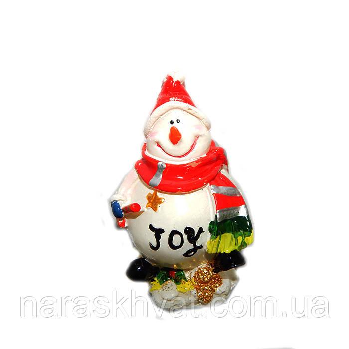 """Новогодняя свеча """"Снеговичок"""""""