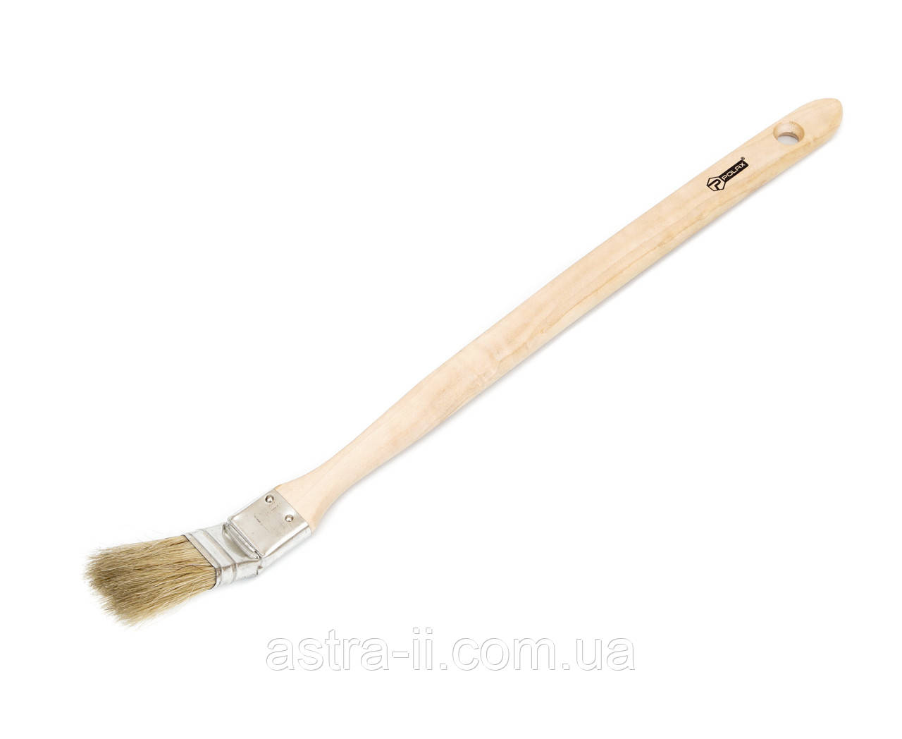 """13-001 Кисть радиаторная, """"Стандарт"""" 1""""деревянная ручка"""