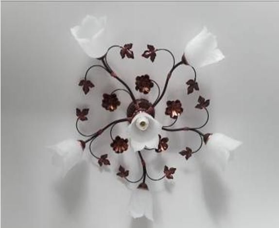 Люстра потолочная флористика 5602 Елена