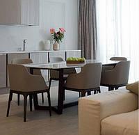 Стеклянный стол - мода на лаконичность