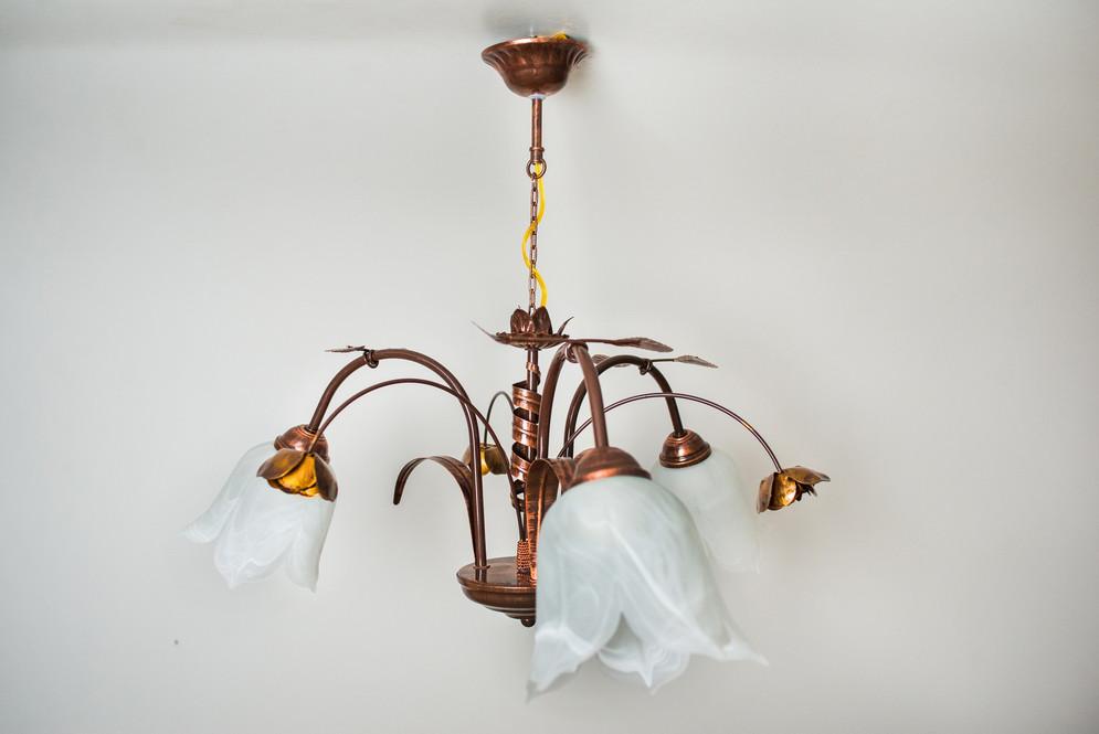 Подвесной светильник флористика 5701 Ольга