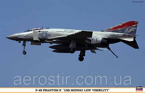 F-4S PHANTOM II USS MIDWAY LOW VISIBILITY 1/48 HASEGAWA 09807
