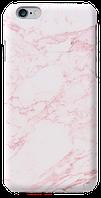 Чехол дляiphone 6 / 6s Розовый мрамор с тонкими прожилками
